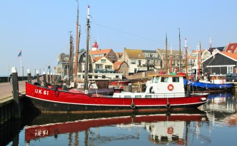 Foto van Urker haven door Janneke Kramer